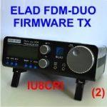 AGGIORNAMENTO FIRMWARE TX – ELAD FDM-DUO