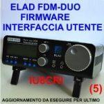 AGGIORNAMENTO FIRMWARE INTERFACCIA UTENTE (IU) – ELAD FDM-DUO