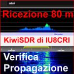 Ricezione 80 m con KiwiSDR di Antonio IU8CRI – Modalità Propagazione