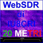 Stazione WEBSDR su Raspberry Pi 3 di Antonio IU8CRI sui 20 metri