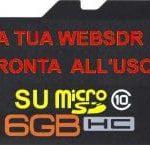 RASPBERRY PI 3 – IMMAGINE PRONTA PER STAZIONE RADIO WEBSDR