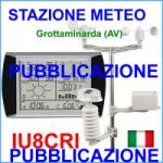 PUBBLICAZIONE Meteo Station of Antonio IU8CRI – Grottaminarda (AV) – ITALY
