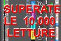 SUPERATE LE 10.000 LETTURE per KiwiSDR Receiving Station in ITALY of Antonio IU8CRI su Antenna MORGAIN