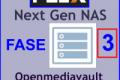 "PLEX "" FASE 3 "" NAS openmediavault su RASPBERRY Pi 3 B (+) Plus a 1,4 GHz"