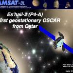 Come Ricevere e Trasmettere verso Il Satellite Geostazionario per Radioamatori – Es'Hail 2 – Qatar OSCAR-100