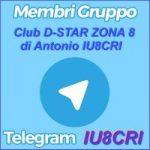 Gruppo Telegram di Club D-STAR ZONA 8 – IU8CRI – domande e risposte in diretta dall'autore degli articoli